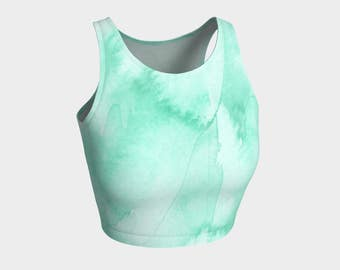 Lightness sport crop top
