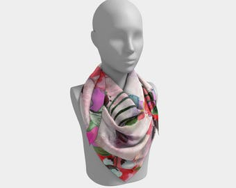 Bea square scarf