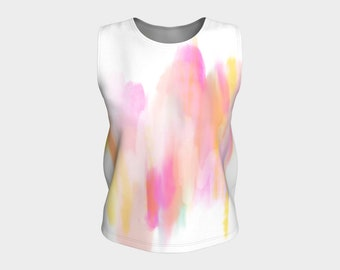 Emmy Unicorn loose tank top