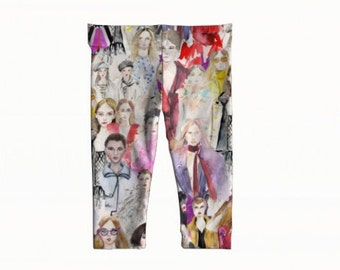 "baby + toddler leggings - ""Oh Bop, Fashion""- 6m-3yr"