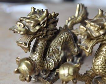 dragon statue etsy