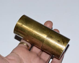 brass trench lighter, Great War