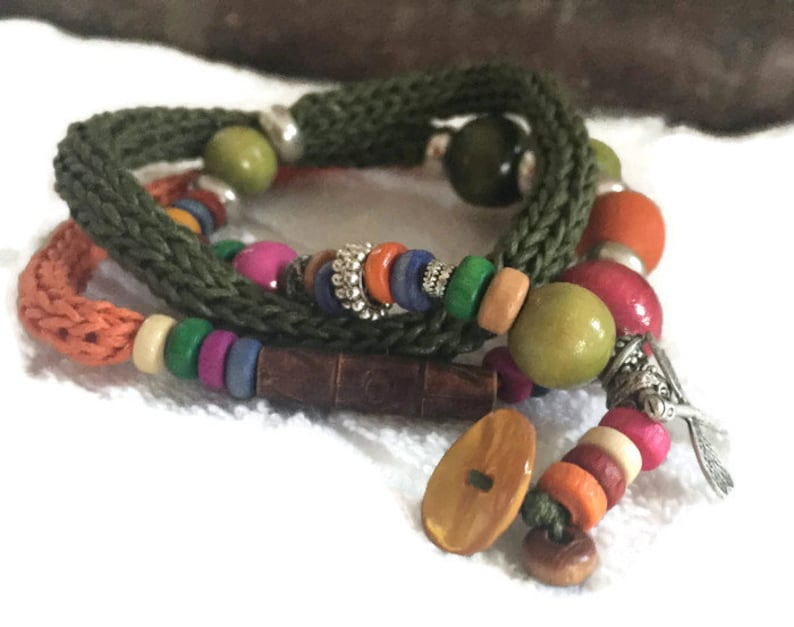 Handmade 2 in 1 Ibiza Wrap Bracelet or Necklace
