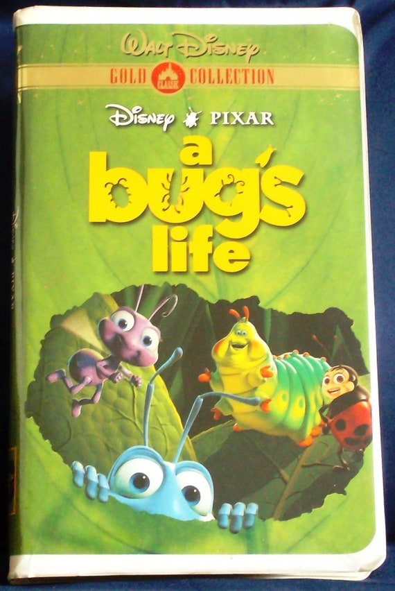 A Bug S Life Vhs Walt Disney S Gold Classic Collection Etsy