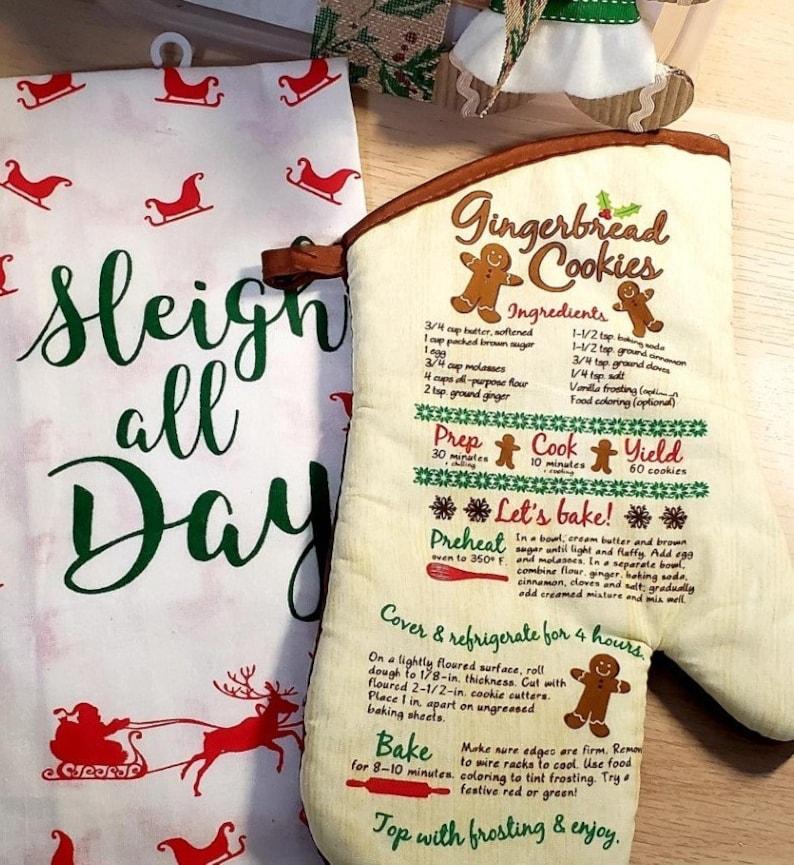 Baking Gift Set 14 piece set Gingerbread Man