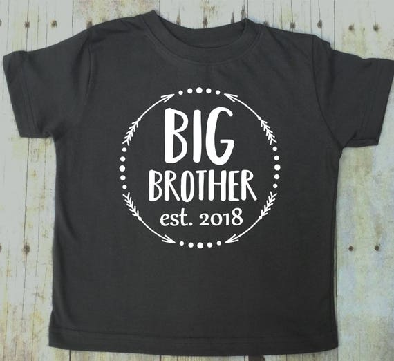 big brother shirt big brother t shirt pregnancy reveal sibling etsy