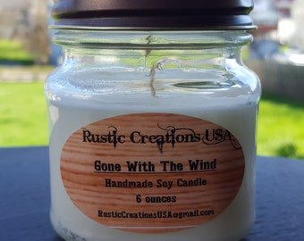 Gone with the Wind - Premium Soy Candle
