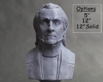 James K. Polk USA President #11 5 inch 3D Printed Bust