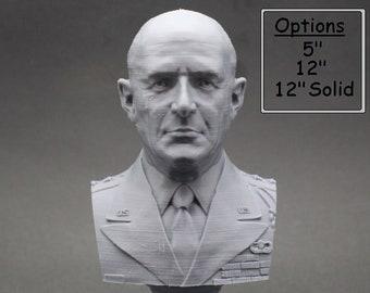Matthew B. Ridgeway Legendary US Army General 3D Printed Bust