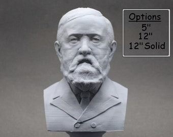 Benjamin Harrison USA President #23 5 inch 3D Printed Bust