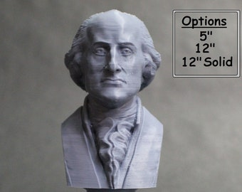 John Jay Founding Father 3D Printed Bust