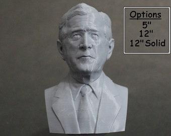 George W. Bush USA President #43 5 inch 3D Printed Bust