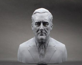Franklin Delano Roosevelt FDR USA President #32 5 inch 3D Printed Bust