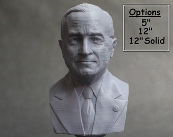 Harry Truman USA President #33 5 inch 3D Printed Bust