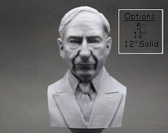 Hugo Gernsback Famous American Writer, Inventor, and Editor 3D Printed Bust