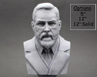 Bram Stoker Irish Writer 3D Printed Bust