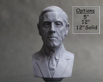 Woodrow Wilson USA President #28 5 inch 3D Printed Bust