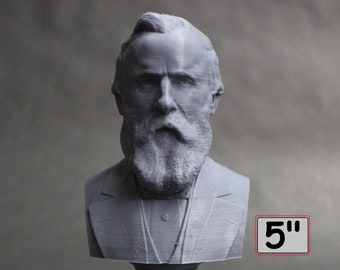 Rutherford B. Hayes USA President #19 5 inch 3D Printed Bust