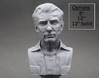 Jack Kerouac American Novelist 3D Printed Bust