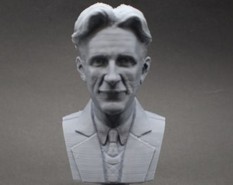 George Orwell Famous English Novelist 5 inch 3D Printed Bust