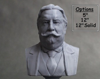 William Howard Taft USA President #27 5 inch 3D Printed Bust