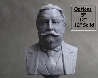 William Howard Taft USA President #27 5 inch 3D Printed Bust