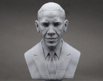 Barack Obama USA President #44 5 inch 3D Printed Bust