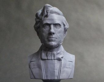 Franklin Pierce USA President #14 5 inch 3D Printed Bust