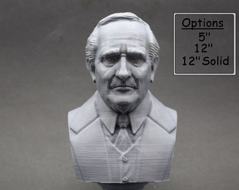 J.R.R. Tolkien Famous English Writer 3D Printed Bust