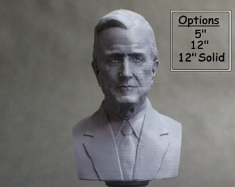 George H.W. Bush USA President #41 5 inch 3D Printed Bust