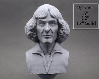Nicolaus Copernicus Ranaissance-era Polymath 3D Printed Bust
