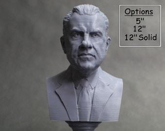 Richard Nixon USA President #37 5 inch 3D Printed Bust
