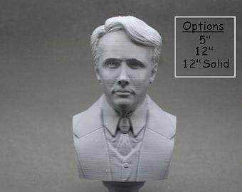 Robert Frost American Poet 3D Printed Bust