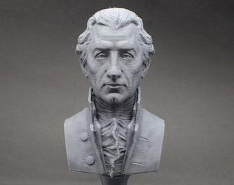James Monroe USA President #5 5 inch 3D Printed Bust