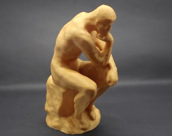 """Rodin's """"The Thinker"""" 3D Printed Sculpture"""