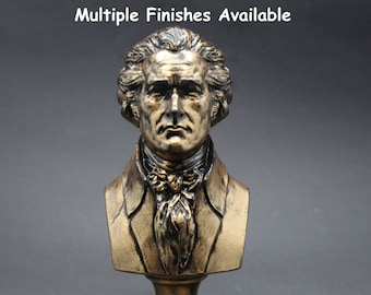 Alexander Hamilton Founding Father  5 inch Resin Bust