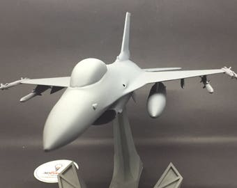 F16 Fighting Falcon Block 50  Model with Stand