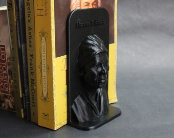 Harriet Tubman and Other Famous People 3D Printed Bookend Book Frame