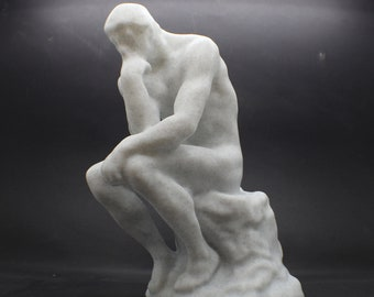 "Large Rodin's ""The Thinker"" 3D Printed Sculpture"