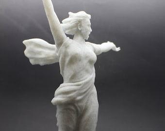 Large Rodina Volgograd (The Motherland Calls) FDM 3D Printed Statue