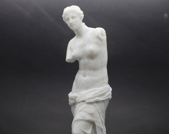 Aphrodite of Milos (Venus De Milo) 8in FDM 3D Printed Statue from Louvre Museum in Paris