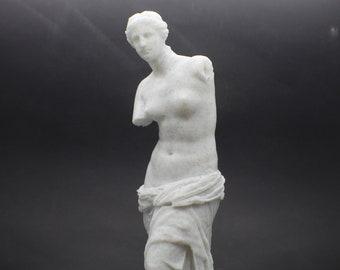 Large Aphrodite of Milos (Venus De Milo) 9in FDM 3D Printed Statue from Louvre Museum in Paris