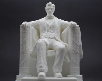 Lincoln Memorial Monument Replica