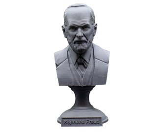 Sigmund Freud Austrian Neurologist and founder of Psychoanalysis 5 Inch Bust