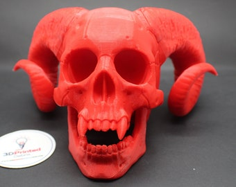 Demon Skull Bonehead by 3DKitbash
