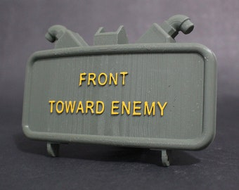 """Claymore Mine V2 Trailer Tow Hitch Receiver Plug Cover for 2"""" Receivers for car, truck, or SUV"""