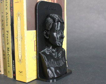 Ayn Rand and Other Famous Authors 3D Printed Bookend Book Frame