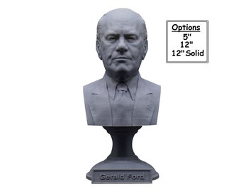 Gerald Ford USA President #38 5 inch 3D Printed Bust