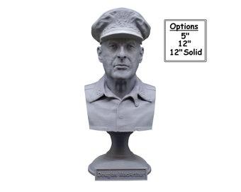 Douglas MacArthur Legendary US Army General 3D Printed Bust