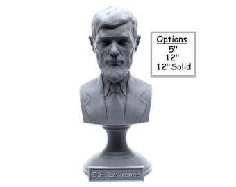 D.H. Lawrence British Writer and Poet 3D Printed Bust